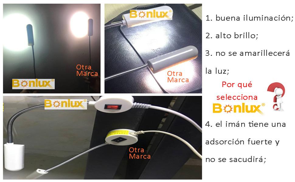luz maquina coser