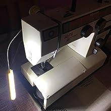 led luz coser