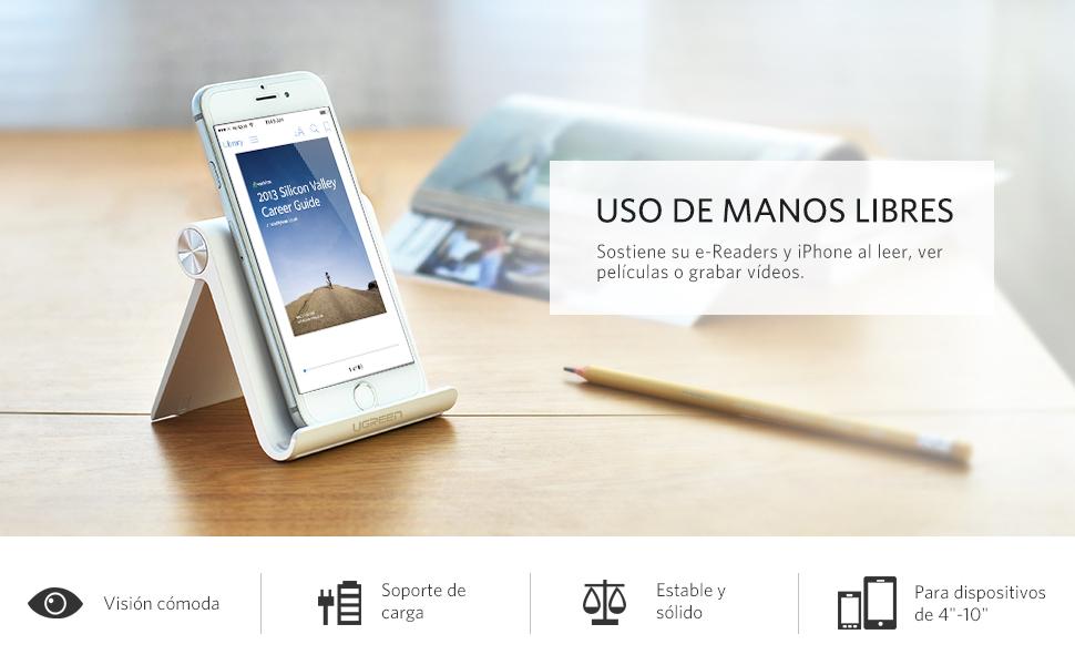 UGREEN Soporte Movil Mesa Multiángulo Soporte Smartphones ...