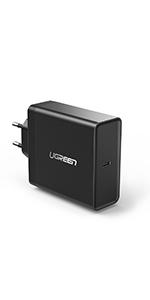 UGREEN Cargador USB Pared con Dos USB Puertos 5V 2.4A y 5V ...