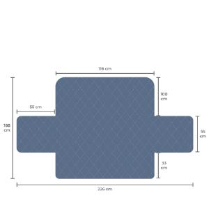 EmoD-Trade® Funda Sofa de 2 Plazas Nueva Generación | Cubre Sofa | Fundas Para Sofa | Fundas Sofa Anti Pelos Mascotas | Protector Sofa 2 Plazas para ...