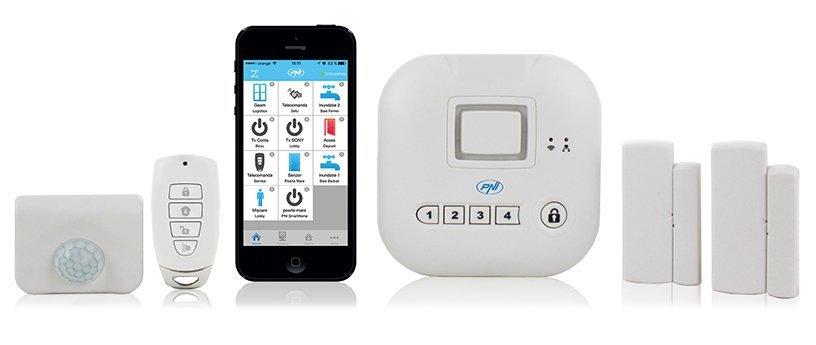 PNI PNI-SM400 Sistema, 220 V, Smarthome Sm400 Alarm System ...