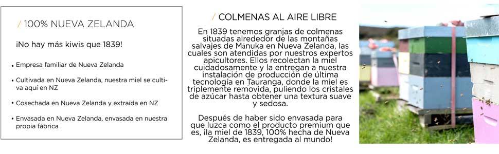 1839 Espray Miel de Propóleo para la Garganta Con UMF 10+ ...