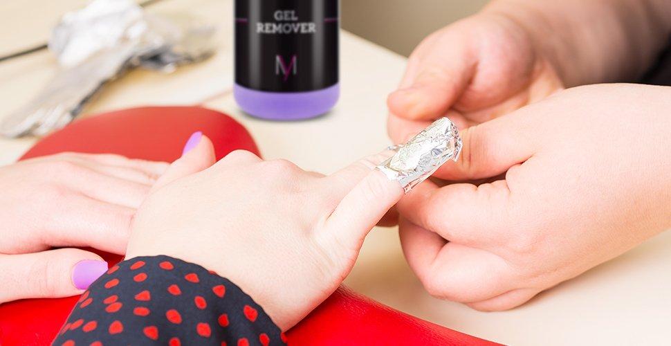 Mylee Quitaesmalte para Uñas de Gel con Acetona 250ml, Limpiador Profesional de Uñas UV LED para Manicuras y Pedicuras. Gel Nail Polish Remover