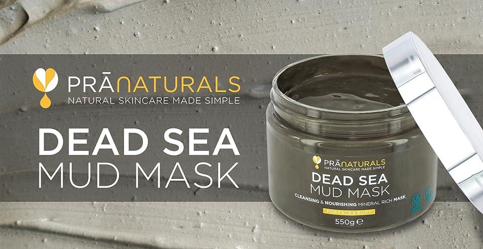 Esta poderosa mascarilla de barro del Mar Muerto ha sido mezclada con Aloe Vera, Aceite de Oliva y Vitamina E, todos profundamente nutritivos.