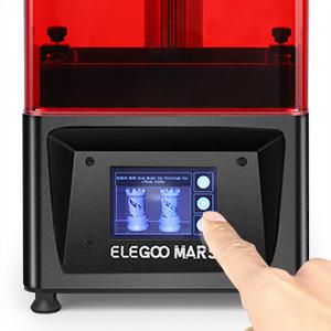 ELEGOO MARS Impresora 3D UV Fotocurado con 3.5