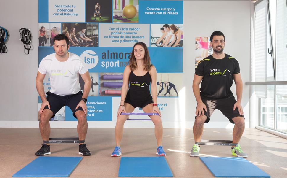 40495f3e693f5 Ryher Bandas Elasticas de Fitness - 3X Bandas de Resistencia - Gomas ...