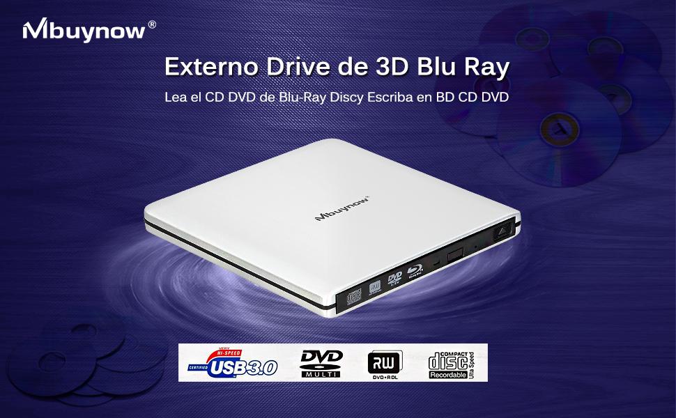 ... en DVD y Blu-Ray en PC, también es muy útil para los profesionales en movimiento que desean ver una bonita película de Blu-ray 3D en el portátil después ...