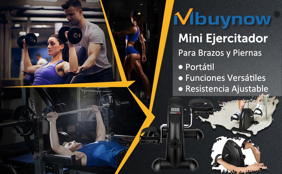 Minibicicleta Estática Plegable para Entrenamiento de Brazos y ...