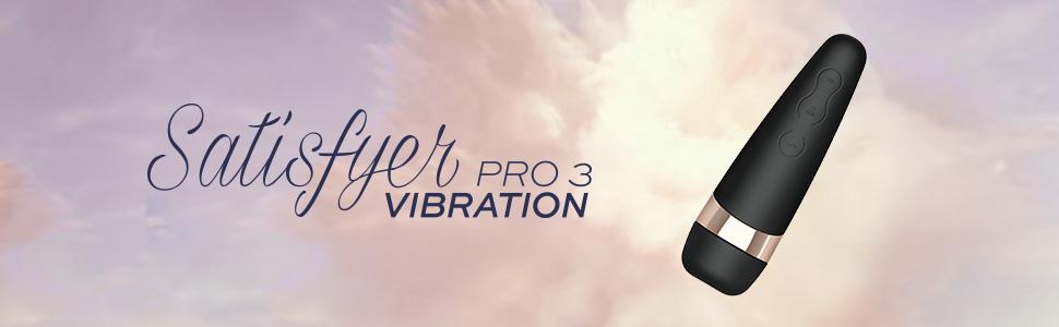 Satisfyer Pro 3 Plus Vibration, presión y vibración, 2 motores, impermeable