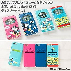 9af6d60028 「窓付き」iPhone6s/6専用 手帳型ケース. ディズニーファン必見!ビビッドな配色がとってもキュートな iPhone 6s/6専用フリップ ダイアリーケースが登場です!