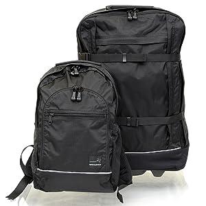 5366545a5bf9 旅に必要なかばんが全て揃った「地球の歩き方エディターズキャリーバックパックJr.III」。