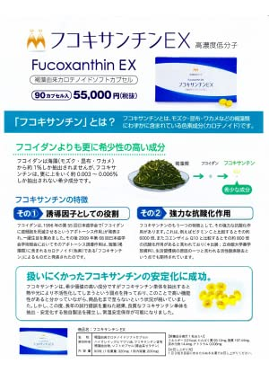 d9fdff0dc0d Fucoxanthin had not been stablized and it's not easy to be commercialized.  However the results of cntinuous trial and error, we achieved to stabilized  high ...