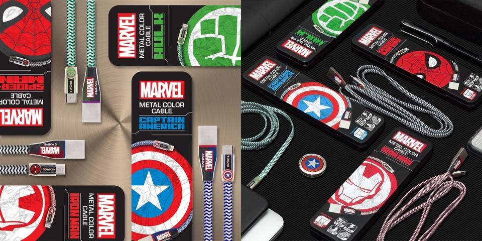 マーベル 人気キャラクター の Usbケーブル 登場 24a 急速充電 可能 Marvel アベンジャーズ Iphone 端末用 8 Pin Lightning キャプテンアメリカ