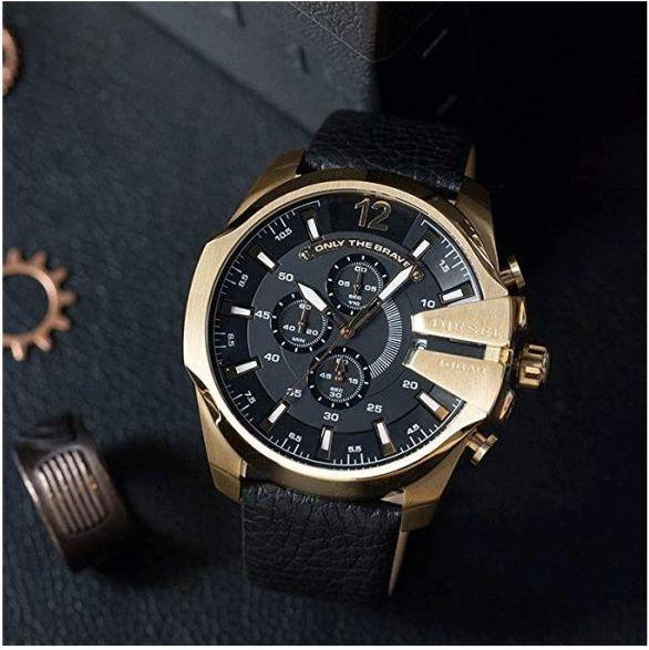 02bcad90e4 DIESEL(ディーゼル) 腕時計 ストロングホールド メンズ クオーツ クロノ DZ4344 [並行輸入品]. 79年にメンズコレクション、84年にキッズライン「DIESELITO」、89年  ...