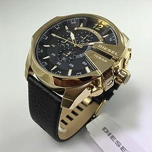81a2e3e6f5 Amazon | DIESEL(ディーゼル) 腕時計 ストロングホールド メンズ ...
