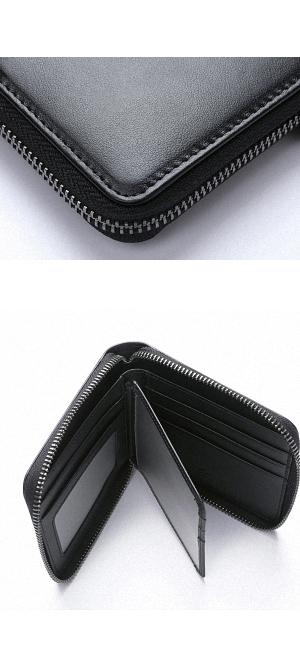 b585d4ac5d71 収納部には2層に分かれた札入れ。カードポケットがあるスペースはフラップ状になっており、下と裏側にもカードポケットを装備しています。限られたスペースで限の収納  ...