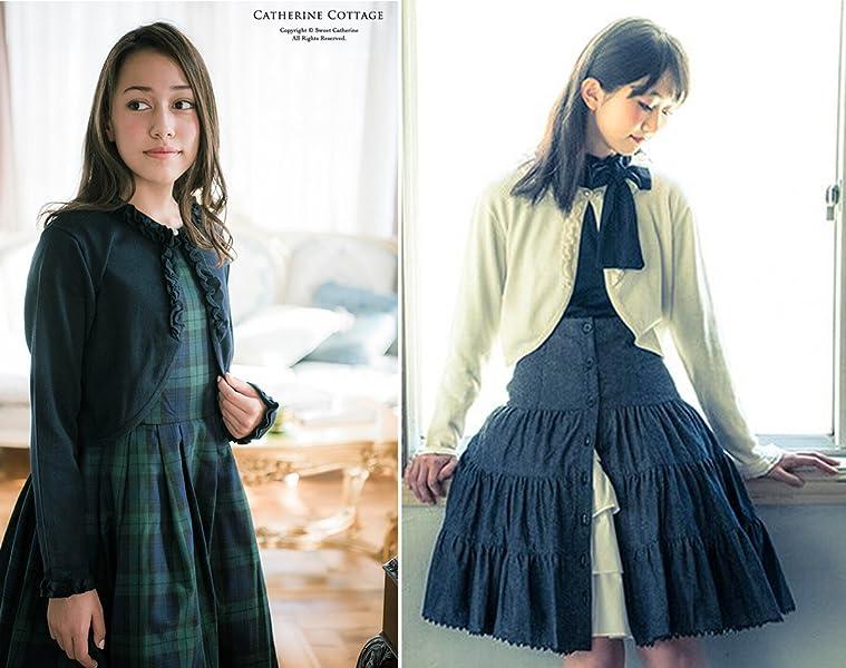 74cd62c2ffa5e カジュアルにも着まわしできるフォーマルジュニア服 。 コットンニットカーディガン ジュニアサイズ *Catherine Cottage*