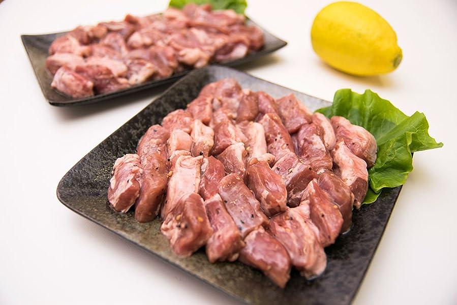 Amazon 黄金そだち 三元豚太郎 塩ダレ豚ハラミ 1kg 焼肉用 焼き肉用 1キロ 業務用 訳あり わけあり q バーベキュー 肉の卸問屋アオノ 牛肉 通販