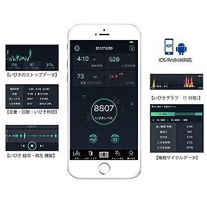 アプリ いびき 記録