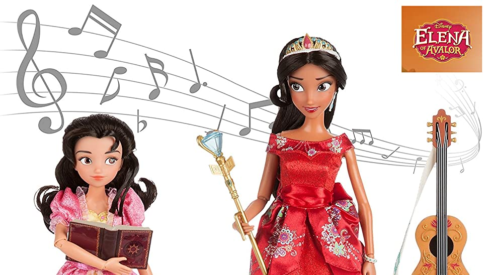 Disney-Store-Elena-of-Avalor-Deluxe-Singing-Doll with 10/'/' Isabel 11/'/'