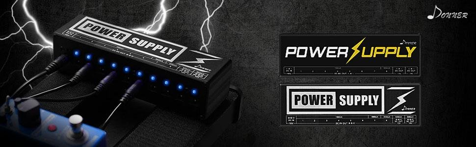 Donner DP-2 エフェクター電源 パワーサプライ 独立動作 電源供給 PSE認証 (10チャンネル) 1