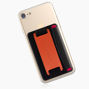 iPhone 携帯電話 スマホバンド スマホストラップ スマホグリップ カード入れ カードケース カードホルダー IC カード IDカード 免許証 携帯スタンド cards slot スマホスタンド