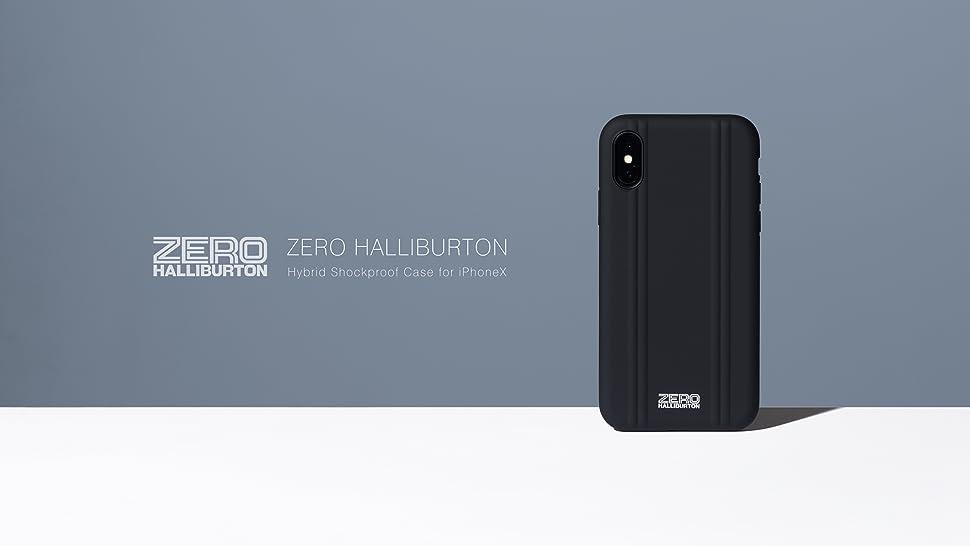 cheap for discount 717ec 07f9a Amazon | 【iPhoneX専用ケース】ZERO HALLIBURTON(ゼロハリバートン ...