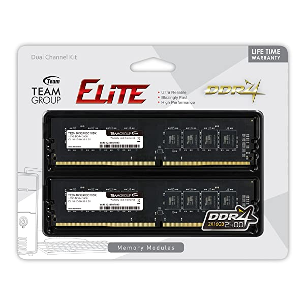 PARTS-QUICK BRAND 16GB Memory for ASRock Motherboard Z170M Extreme4 DDR4 2400MHz Non-ECC UDIMM Memory