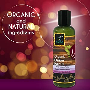 The EnQ Organic Onion Oil