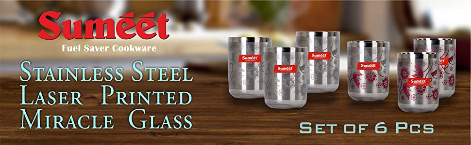 Home & Kitchen & Dining Tableware Glassware & Drinkware Water & Juice Glasses, colour change flower