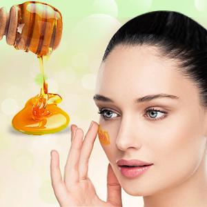 honey in Aloe Vera face wash