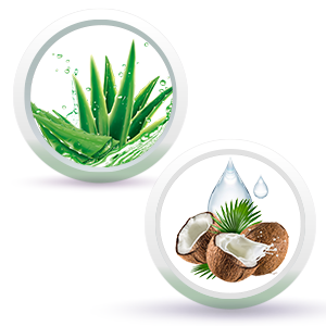 Aloe Vera & Caprylic Capric Triglyceride