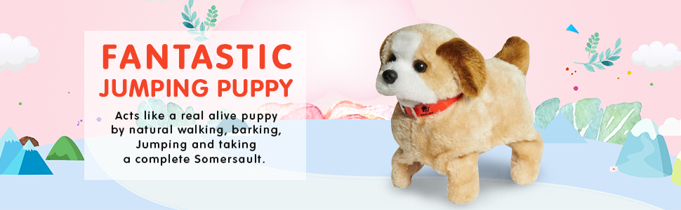 Jumping Puppy Toy