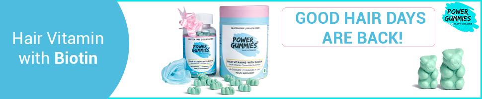 power gummies hair vitamin hair growth biotin nail growth vitamins health healthy beautiful hair