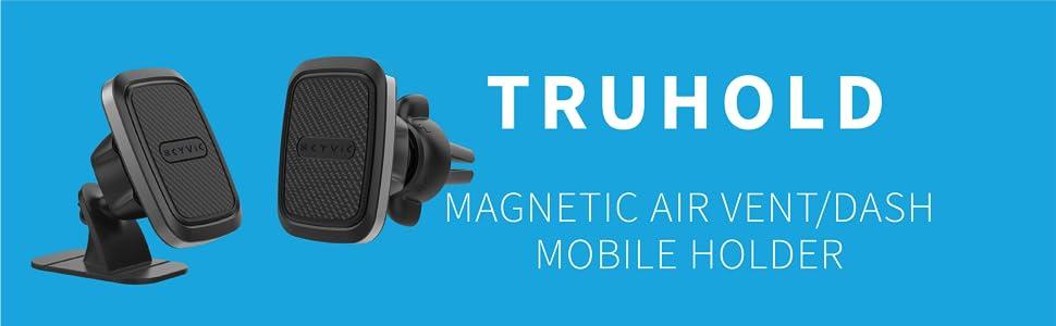 MAGNETIC AIR VENT/DASH MOBILE HOLDER