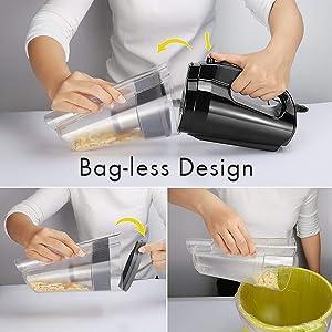 Bag-less Design