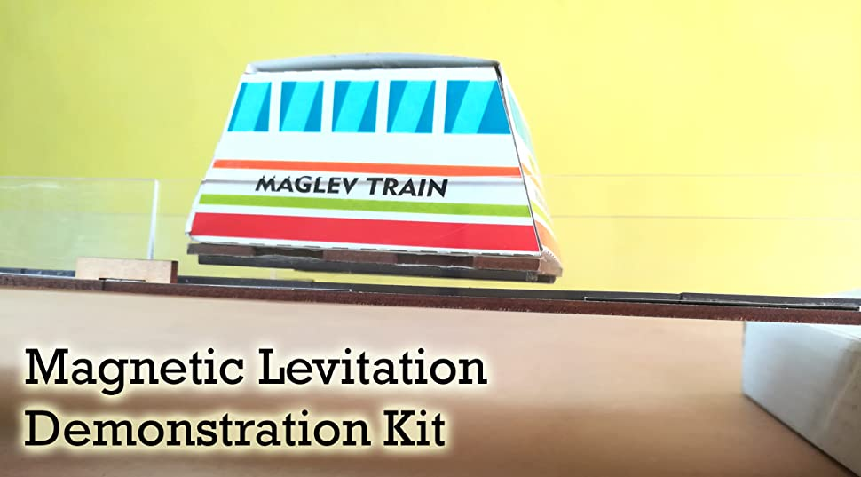 MFM Toys Maglev Train Project DIY KIT | Magnetic Levitation Demo for  Classroom