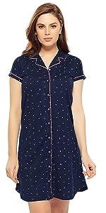 boyfriend shirt sleep dress