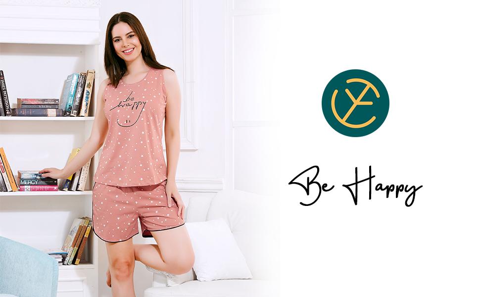 Zeyo Women's Stylish Lounge & Nightwear