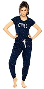 Zeyo Women's Pajama Set