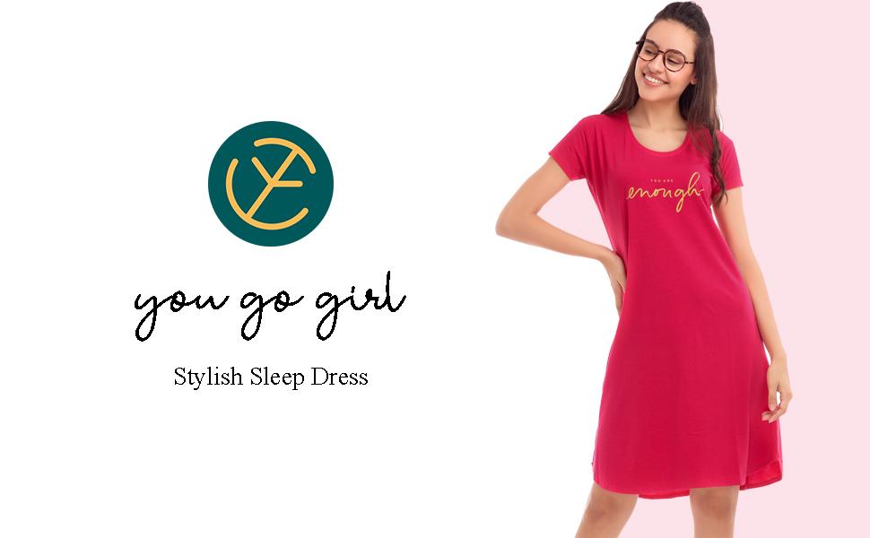 women's sleep dress buy online