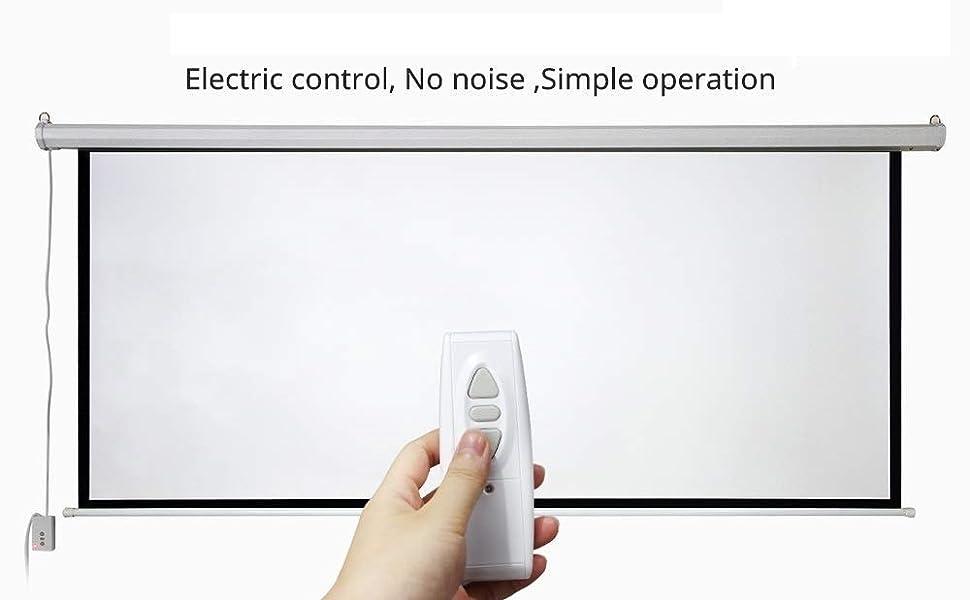 Inlight Motorised Projector Screens