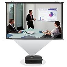 Inlight Universal Map Type Projector Screen