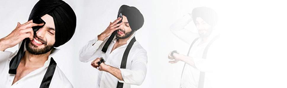 looking cool in turban