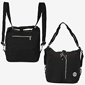 c104077c08 Di Grazia Convertible (2 way) Womens Waterproof Handbag Backpack ...