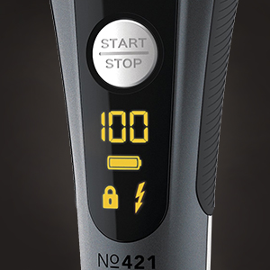 CARRERA 421 Professional Electric Shaver & Precision Trimmer for Men, Women