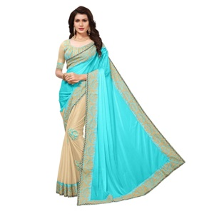 Esomic Stylish Ethnic Wear Traditional Saree For Indian Women's