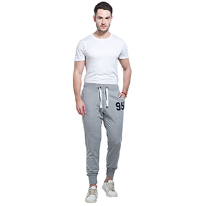 88e80a7f9a7f3f Made up of cotton, this pair of joggers is easy and comfortable to wear  throughout the day. It also contains a low percentage of elastane, which  makes the ...