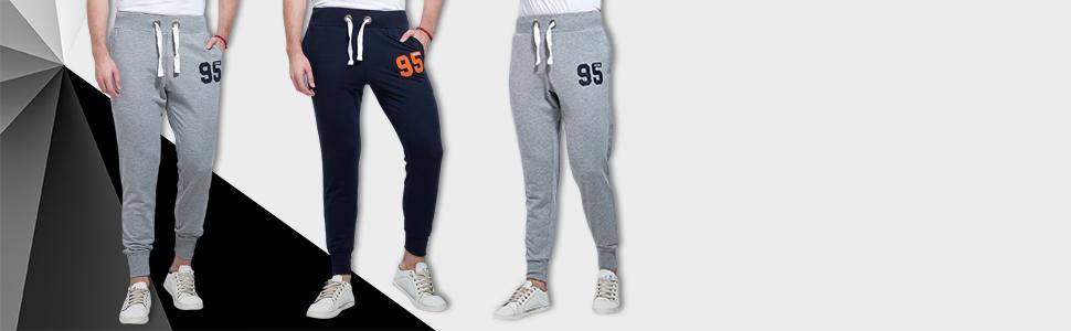 0bd6b86852d0f6 Alan Jones Clothing Men's Cotton Slim Fit Joggers: Amazon.in ...